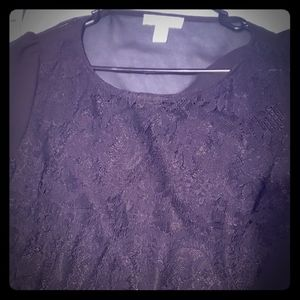 Forever 21/Shein lace black blouses